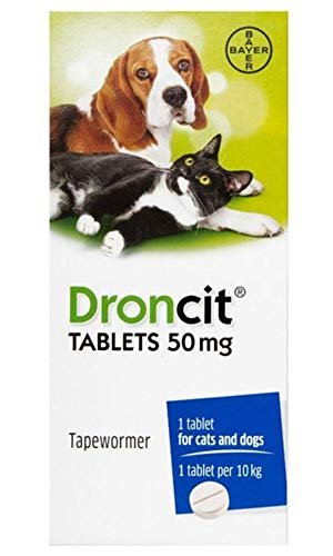 Bayer - Droncit Dog & Cat Tapeworm x 20 Tablets