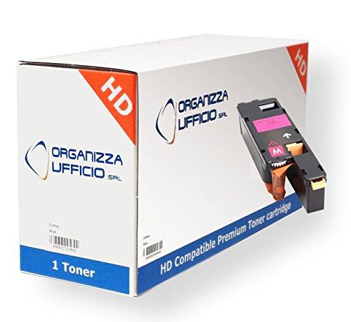 ORGANIZZAUFFICIO Toner Compatibile per Epson Aculaser C1700 C13S050612 Magenta Cx17