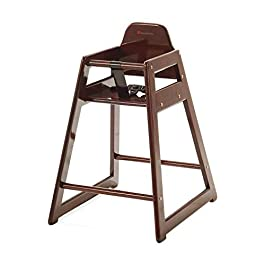 2020 Foundations Neatseat Food Service High Chair, Antique Cherry