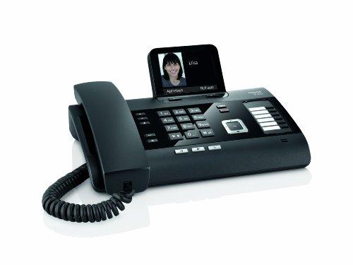 Gigaset DL500A schnurgebundenes Komforttelefon mit Anrufbeantworter und integrierter Dect Basisstation, schwarz - 2