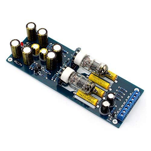 Q-BAIHE 6J1Ventil Vorverstärker Tube Vorverstärker montiert Board Audio Musical Fidelity