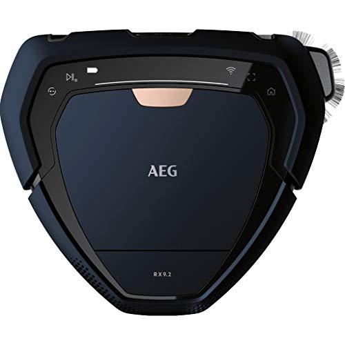 AEG RX9-2-4STN Robot Aspiradora Visión 3D, Batería hasta 60min Cepillo Motorizado Ancho de 22cm, Escala 2, 2cm,...