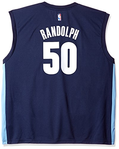 adidas NBA Memphis Grizzlies Zach Randolph # 50Hombres Camiseta de Jersey, Hombre, 7818-Men-Road, Road, Large