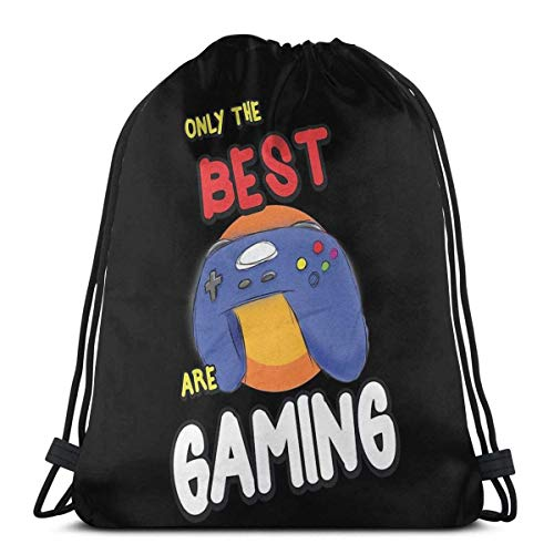 Gaming Gamer Best Are Gaming Gamepad Geek Nerd Sport Sackpack Kordelzug Rucksack Gym Bag Sack
