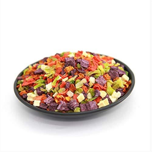 Forniture per Animali Domestici, 500 G/Borsa, Snack Bibimbap di Frutta E Verdura per Cani Pacchetto di Verdure Verdure Disidratate Cibo Secco Misto