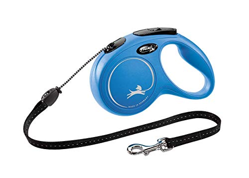 Croci C5055142 Flexi New Classic Cord, M, 5M, Azul