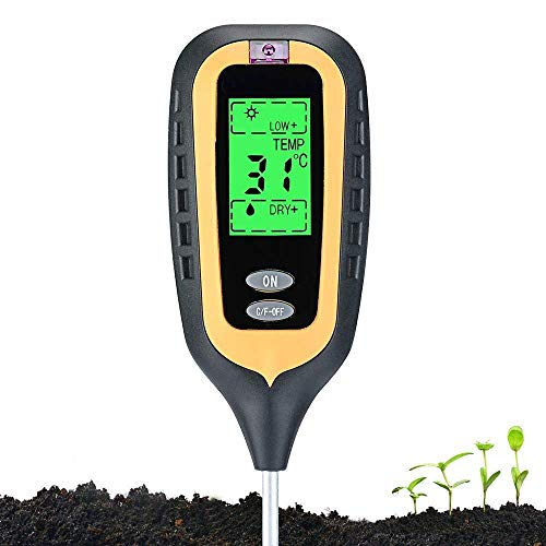 Morthan New 4-in-1 Soil Tester Kit
