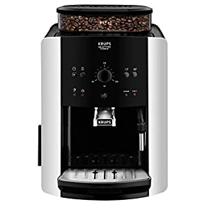 Krups EA8118 Independiente 1.6L Negro – Cafetera (Independiente,