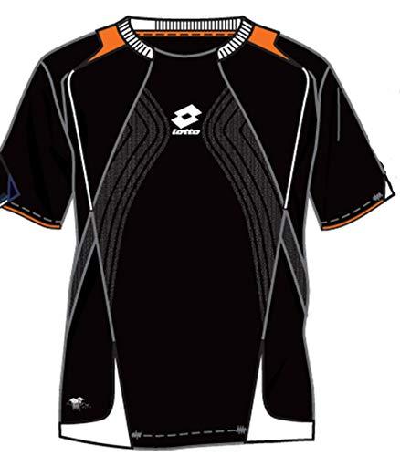 Epic T-Shirt, Homme, Noir/Orange L Noir
