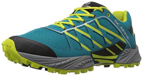 SCARPA Men's Neutron Trail Running Shoe Runner, Abyss/Lime, 43 EU/10 M US