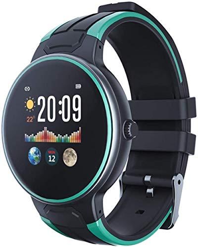 Smart Watch 1 3 pulgadas de alta definición pantalla táctil color llamada recordatorio Bluetooth deportes podómetro reloj para Android y iOS verde