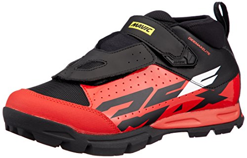Mavic Deemax Elite - Zapatillas - Rojo/Negro Talla 42 2/3 2019