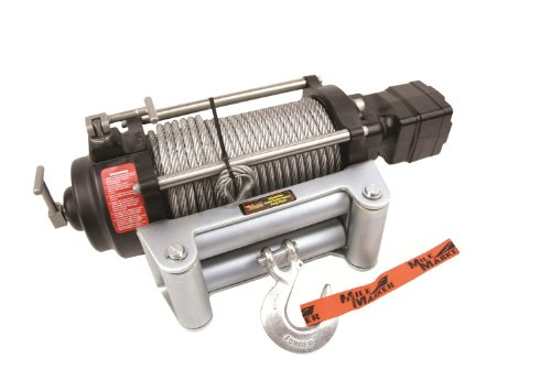 Mile Marker 70-50080C H Series Hydraulic Winch (9,000 lb. Capacity, 2 Speed)
