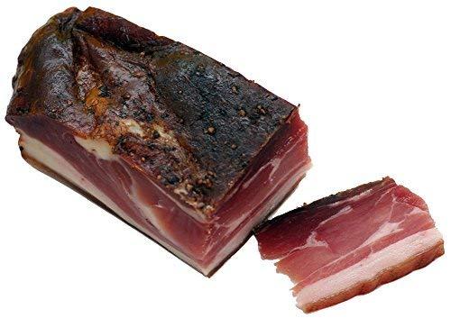 Moos Schwarzwälder Schinken am Stück - Original Rezept, Schweinehinterschinken von Hand geschnitten & gewürzt, 850g