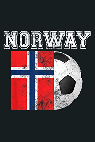 NORWAY Flag Soccer Futbol Football: Notebook Planner - 6x9 inch Daily Planner Journal, To Do List Notebook, Daily Organizer, 114 Pages