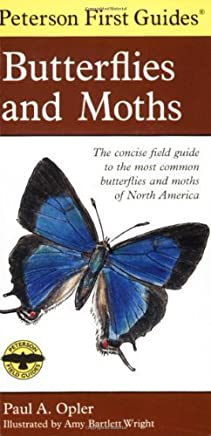 Peterson First Guide to Butterflies and Moths by Paul A. Opler (1998-02-20)