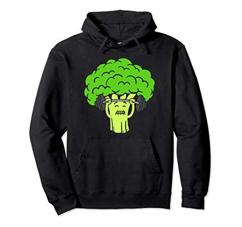 Brokkoli Love Gemüse Gym Fitness Vegan Veganer Geschenk Pullover Hoodie
