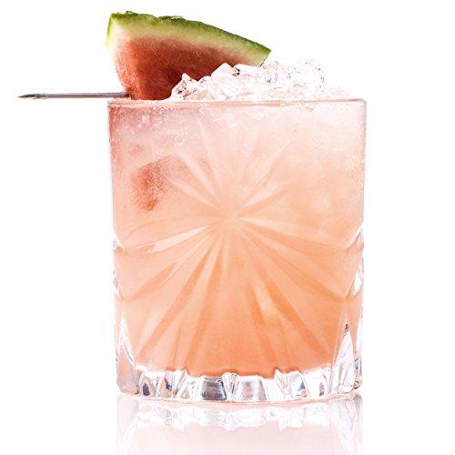 RCR Juego de 6 Vasos Bajos de Cristal de la colección Oasis Whisky de 320ml. Modelo: 26278020006, 23 x 15.5 x 15.5 cm