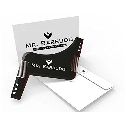 Peine Barba Plantilla Guia para Hombre Talla única Afeitado de Mr. Barbudo