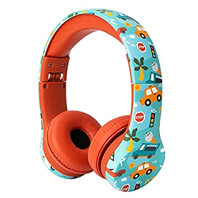 Snug Play+ Kids Headphones with Volume Limiting for Toddlers (Boys/Girls) - Vroom by Snug