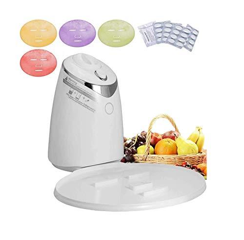 KPNG DIY Automatische Gesichtsmaske Maschine 90W , Natürliche Organische Intelligente Stimme Obst Und Gemüse Kollagenmaske Maschine, Frucht Gemüse Kollagen Gesichtsmaske Maker für Augen Hand Neck