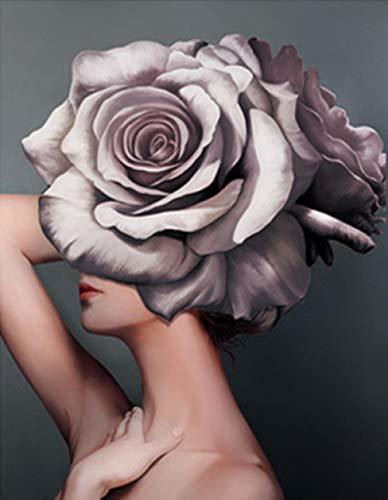Salón de belleza herramientas salón de belleza barbero murales murales salón de belleza decoración pegatinas de pared 42X41Cm
