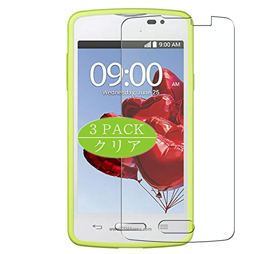 Vaxson 3-Pack Screen Protector, compatible with LG L50 2014, TPU Guard Film Protector [ NOT Tempered Glass Protectors ]