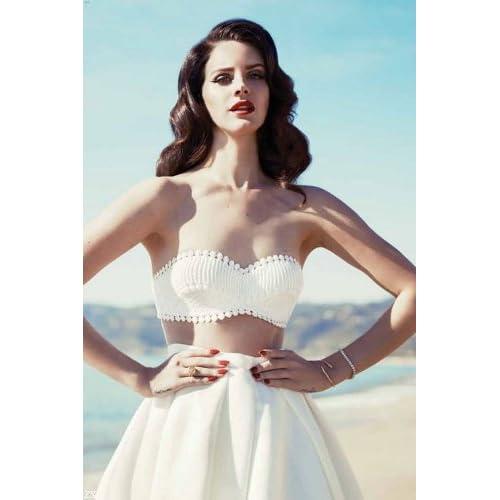 Custom Silk Poster Wall Decor Lana Del Rey Complex