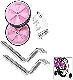 JPYH Ruote Supporto per Bambini Bicicletta, Ruote per Allenamento Bici Stabilizzatrici Uni...