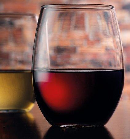 Home Essentials & Beyond 8552 21 oz. Connoisseur Stemless Wine Glass44; Set Of 4