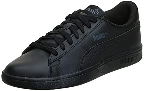PUMA Smash V2L, Zapatillas Hombre, Black Black, 43 EU