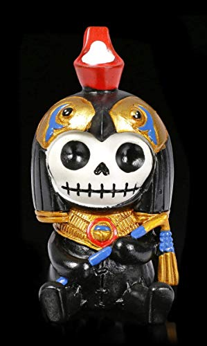 Witzige Furry Bones Fantasy Figur - Horus | Lustige Sammel-Figur, Deko-Figur, Deko-Artikel, H 8,5 cm