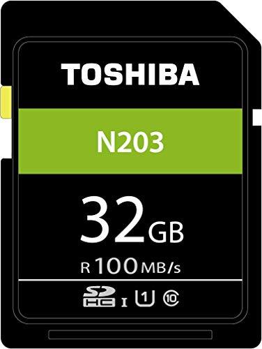 Toshiba N203 Scheda di Memoria SDHC 32GB - 100MB/s - Classe 10 -...