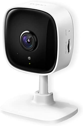 TP-Link Tapo Home Security Wi-Fi Camera - 1080p, Night Vision, Sound & Light Alarm, 2-Way Audio, 24/7 Live View, Voic...