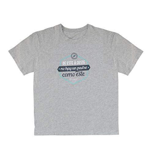 Mr. Wonderful WOA10015ES Camiseta M -De Este a Oeste no Hay un Padre Como Este