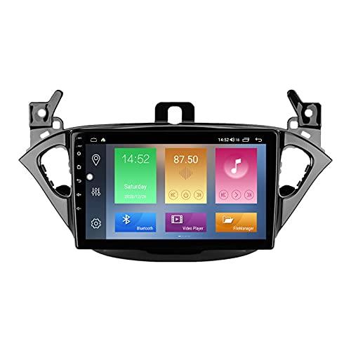 Buladala Android 11 GPS Autoradio Navigazione Stereo per Opel Corsa 2014-2019, con 9'' IPS Screen Supporto Sistemi Video/Chiamate Bluetooth 5.0/FM AM RDS DSP SWC/Carplay Android Auto,M500s