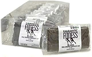 Rawmantic Fitness protein bar with 0g sugar