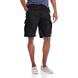 Men's Belted Cargo Short-Reg and Big & Tall Sizes