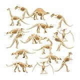 THE TWIDDLERS 48 Piezas Esqueletos Fósiles de Dinosaurios - Huesos de Dinosaurio Figuras | Educativo y Diversión