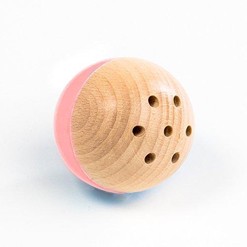 rewoodo Baelly Premium Babyspielzeug Holzspielzeug aus Deutschland (rosa)