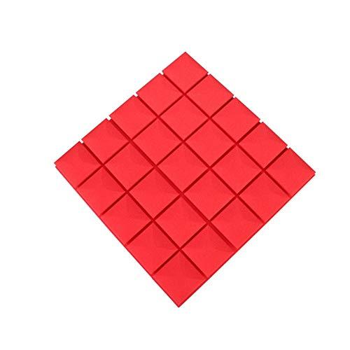 S-Wang 4 Paneles acústicos para el hogar, 19,6 x 19,6 x 1,9 Pulgadas,...
