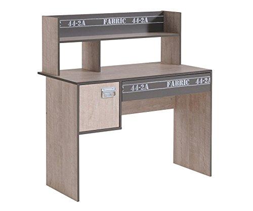 Parisot Schreibtisch Fabric 8 Esche-Grau-Loft
