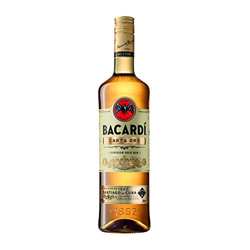 Bacardi Carta Oro Rum (1 x 0.7 l)