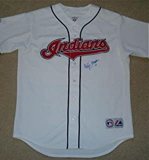 Roberto Alomar Autographed Jersey (indians) W/Proof! - Autographed MLB Jerseys