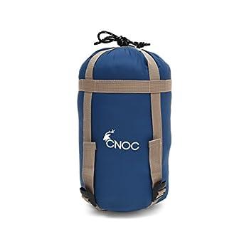 CNOC - Premium Sac de Couchage pour Camping Ultra-léger I Sac de Couchage Voyage - Sac de Camping 9-20 Degré I Sleeping Bag I Accessoires de Voyage pour Camping, Randonnée, Voyage