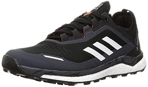 adidas Terrex Agravic Flow, Zapatillas de Trail Running Hombre, NEGBÁS/Balcri/Rojsol, 42 2/3 EU