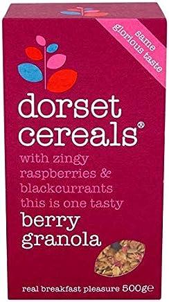 [Dorset Cereals ] ドーセット穀物ベリーグラノーラ500グラム - Dorset Cereals Berry Granola 500g [並行輸入品]