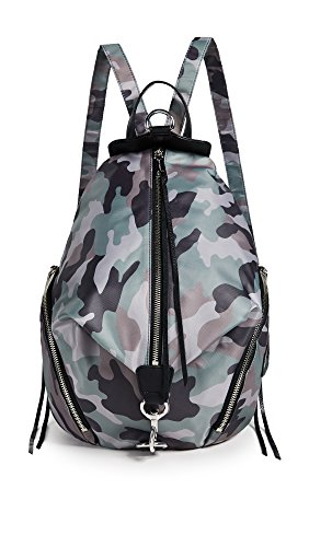 Rebecca Minkoff Women's Nylon Julian Backpack, Camo Print, One Size