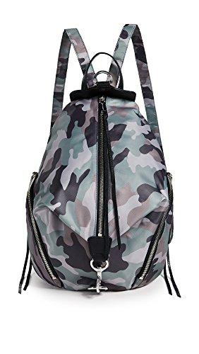 Rebecca Minkoff Women's Nylon Julian Backpack, Camo Print, One Size
