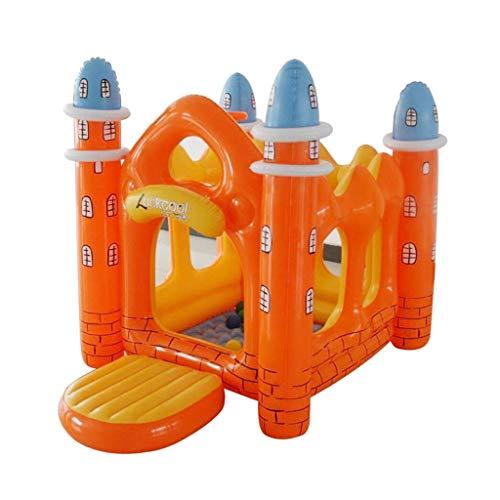 WRJY Castillo Inflable para niños Engrosamiento Trampolín Interior Parque de Atracciones para niños pequeños Casa de Juguetes Casa de Juegos para niños Regalos de cumpleaños para niños